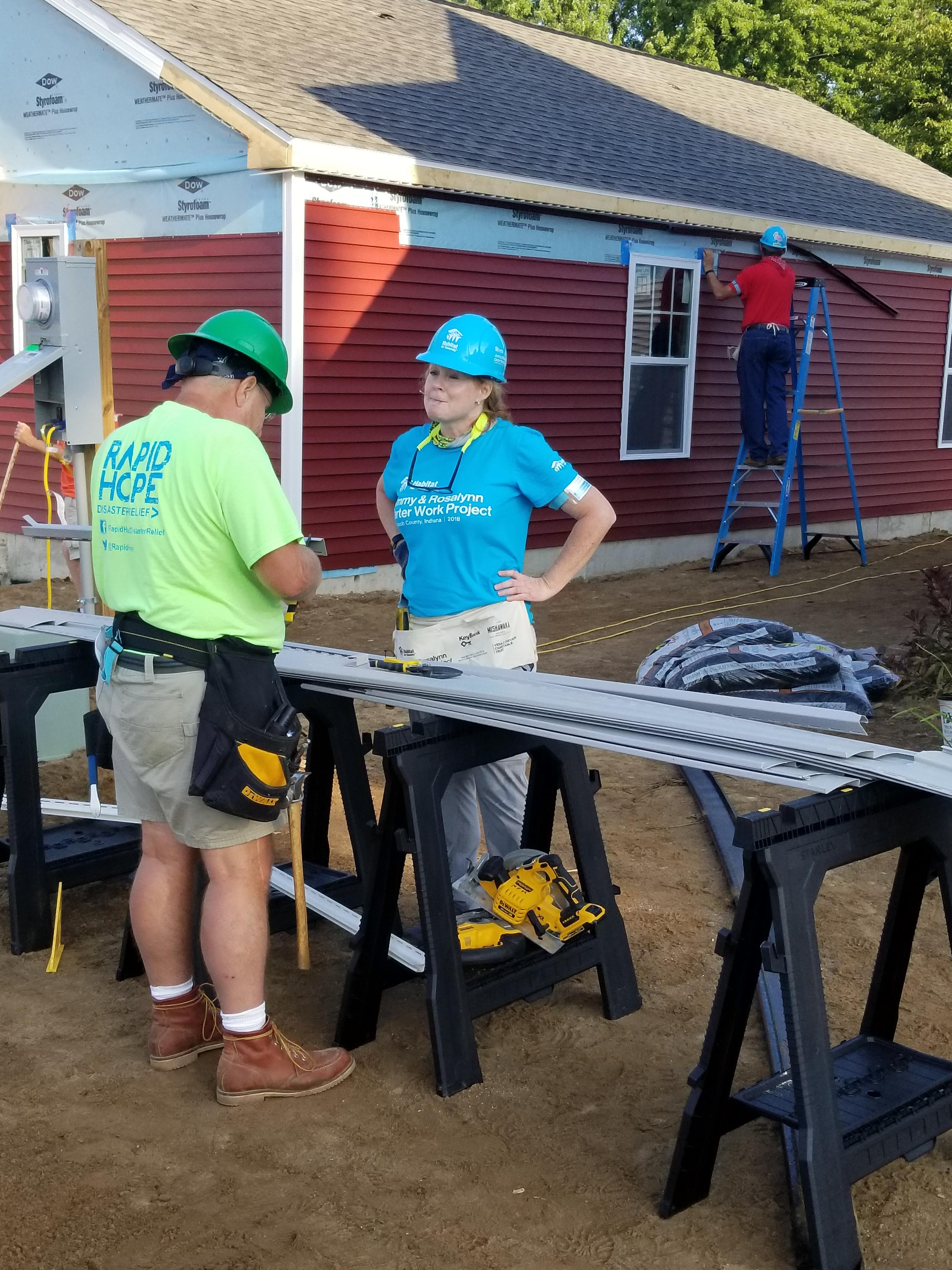 2018 Habitat for Humanity Build - CE