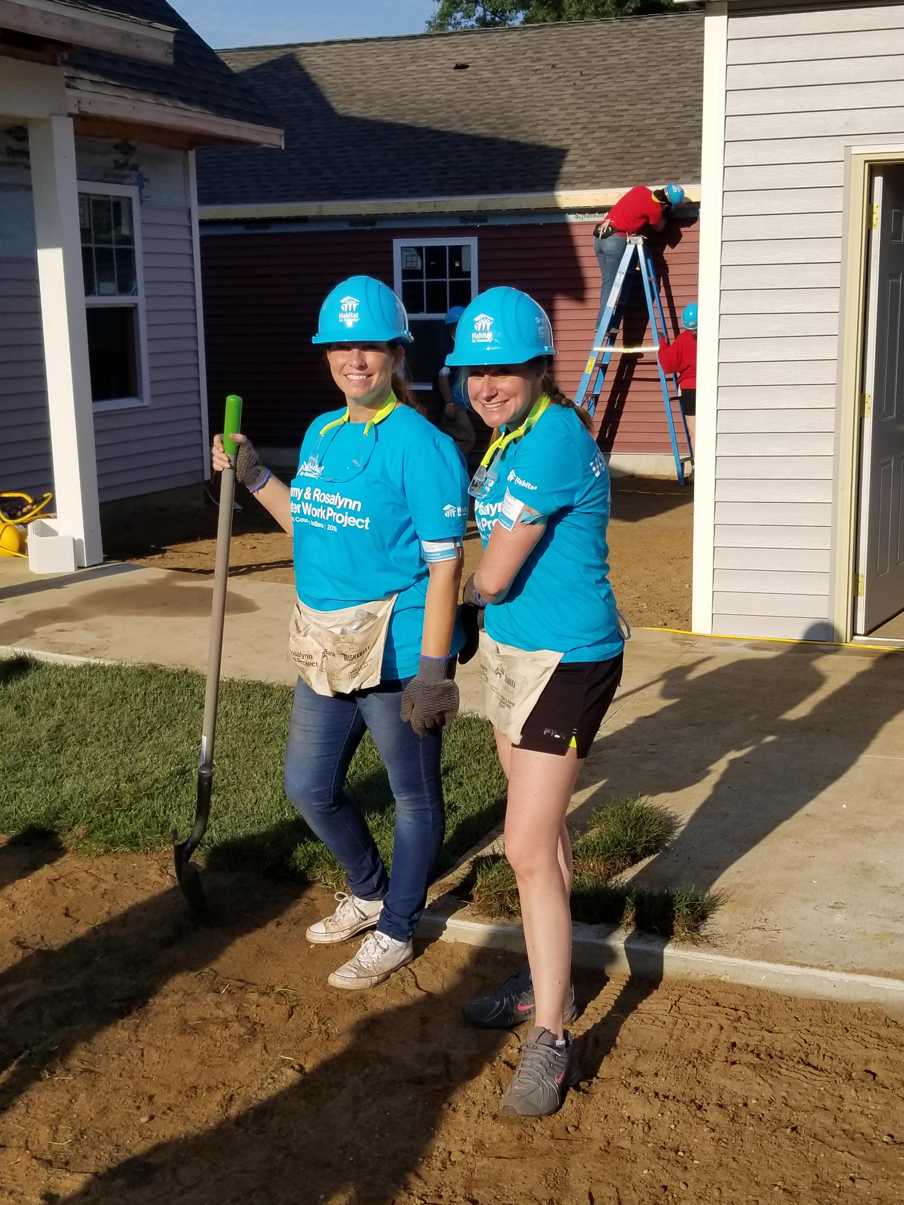 2018 Habitat for Humanity Build - CB and RS