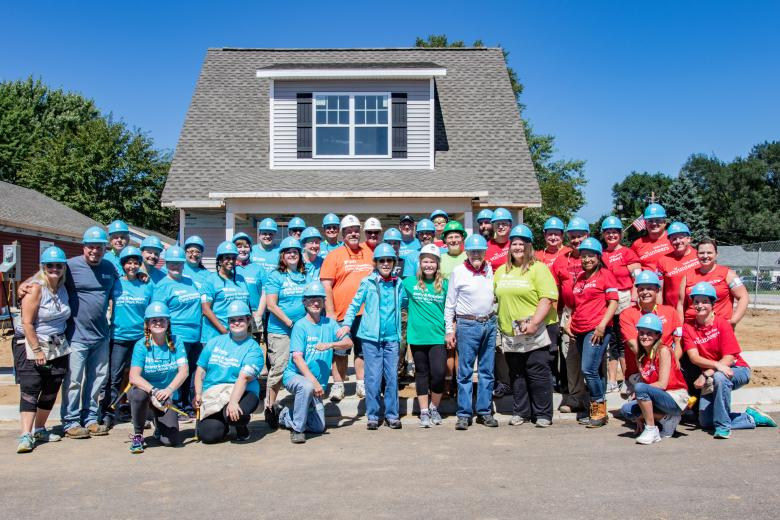 Habitat for Humanity CW House Photo