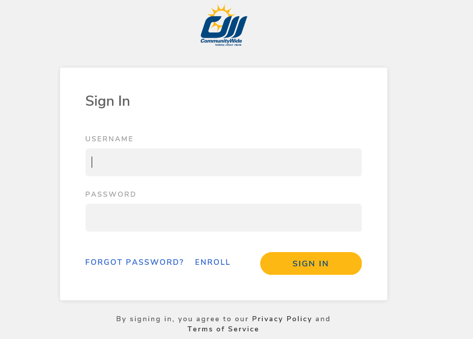 CWAnyWhere Login Screen
