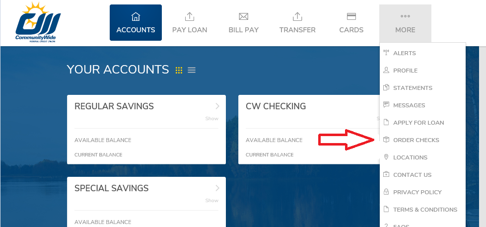 CWAnyWhere Ordering Checks